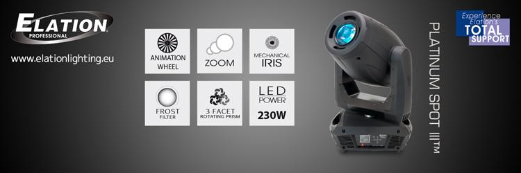 Der neue Elation Platinum Spot LED III