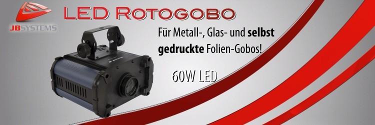 Rotogobo - LED Gobo Projektor