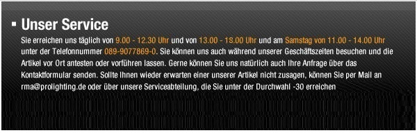 Unser Service