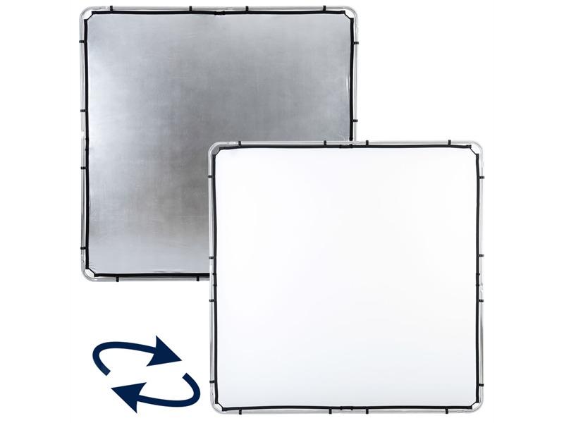 Lastolite LL LR82231R Skylite Rapid Fabric Large 2 x 2m Silver//White